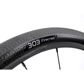 Zipp 303 Firecrest Carbon Clincher SRAM/Shimano wit/zwart